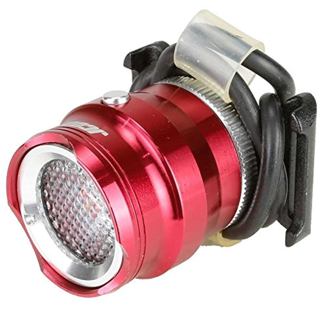 落ち着く姓器用Venzo 赤色LED付きバイク自転車サイクリングリアバックスポット15ルーメンのライト