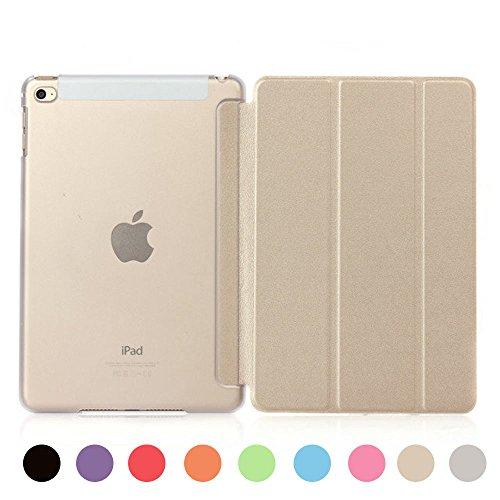 [ライブリーライフ]iPad ミニ カバー iPad mini ケース mini1 mini2 mini3対応 超薄型 三つ折り スタンド 全9色(iPad mini1/2/3,ゴールド)