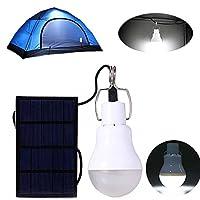 ポータブルソーラーライト電球s-1200130lmアウトドアのLEDランプの照明ホームReadingキャンプ緊急( s-1200太陽ライト)