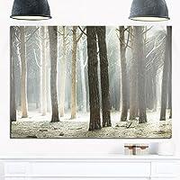 """デザインアートLonely Tree Inラベンダーフィールド 20x12"""" ブルー MT11338-20-12"""
