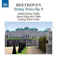 String Trios 1-3 by LUDWIG VAN BEETHOVEN (2011-01-25)