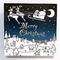 飾れる除菌消臭剤:KESTAS+ルームケア塗り絵用 (S(1〜4畳用), L5:クリスマス)