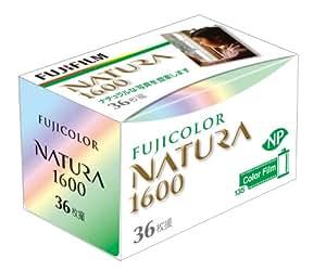 FUJIFILM カラーネガフイルム フジカラー NATURA 1600 36枚撮り 単品 135 NATURA 1600-N 36EX 1