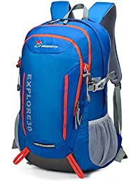 Mardingtop 25L/30L 撥水 登山リュック ハイキング デイバッグ/キャンプ バッグパック/旅行デイバッグ/アウトドア クライミング スクール -5943