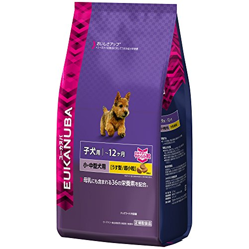 ユーカヌバ 離乳期-12ヶ月齢用 子犬用 小・中型犬種 超小粒 2.7kg