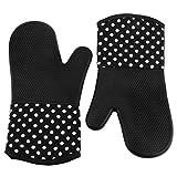 Tera® 耐熱 シリコン オーブン ミトン 手袋 電子レンジ オーブン バーベキュー BBQ クッキング キッチン グローブ 2個セット フリーサイズ