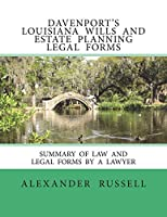 Davenport's Louisiana Wills and Estate Planning Legal Forms