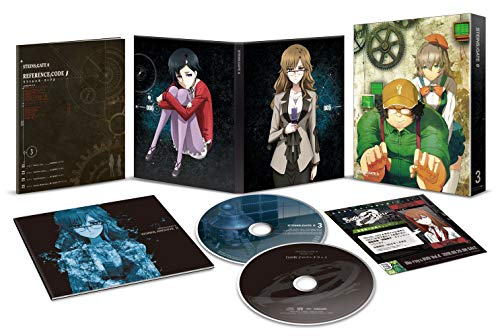 シュタインズ・ゲート ゼロ Vol.3 [Blu-ray]