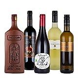 珍しい赤白ワイン5本セット 飲み比べ フランス グルジア ドイツ 750mlx5本
