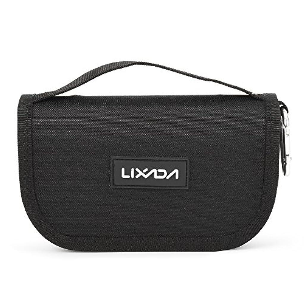 ちょうつがい謝罪する雑多なLixada 釣りタックルバッグ ルアーバッグ 防水性 大容量 スプーンバッグ