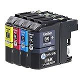 【Amazon限定ブランド】ジット ブラザー(Brother)対応 リサイクル インクカートリッジ LC111-4PK 4色セット対応 JIT-NB1114P