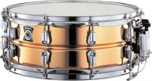 Yamaha ヤマハ Copper Nouveau snare スネア 14X5.5 Inches【並行輸入品】