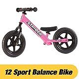 STRIDER(ストライダー) 12 SPORT (スポーツ) バランスバイク18ヶ月から5歳に最適 ピンク [並行輸入品]