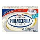 森永乳業 [冷蔵] クラフト フィラデルフィアクリームチーズ 200g