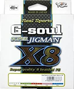 よつあみ(YGK) ライン G-soul スーパージグマンX8 300m 60Lb(4)