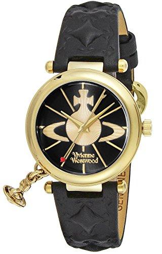 [ヴィヴィアンウエストウッド] 腕時計 VV006BKGD 並行輸入品 ブラック