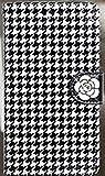 コンバース ランドセル 【アイ・ラブ・ショップ】 ILOVE SHOP iPhone&Glaxy 2色のバラの花のキュービック装飾チェック柄手帳型ケース.JT.HAU (iPhone 6/S6, 1.WHITE ROSE) [並行輸入品]