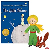 Yottoy Little Prince 2つのバンドル–The Little Prince With Foxソフトおもちゃ& Bookギフトセット