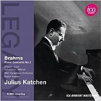 ブラームス:ピアノ協奏曲 第1番 ニ短調 Op.15 他