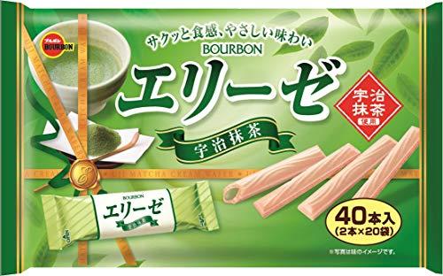 ブルボン エリーゼ宇治抹茶 40本