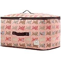 大型ストレージバッグ漫画パターンオックスフォード布防水モイスチャージャーポータブル高品質旅行オーガナイザー羽毛布団衣類移動仕上げ荷物袋 (サイズ さいず : 60 * 40 * 33cm)