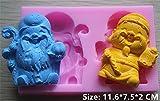 Longevity Men Silicone Fondant Cookie Cake Decorating Baking Mold Tools