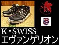 K-SWISS エヴァンゲリオン コラボ 黒 スニーカー 27cm