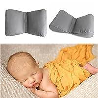 Domybest 蝶型枕ベビー撮影補助 写真道具 安眠枕 赤ちゃん 寝相アート百日記念 多機能 快適 柔らかい