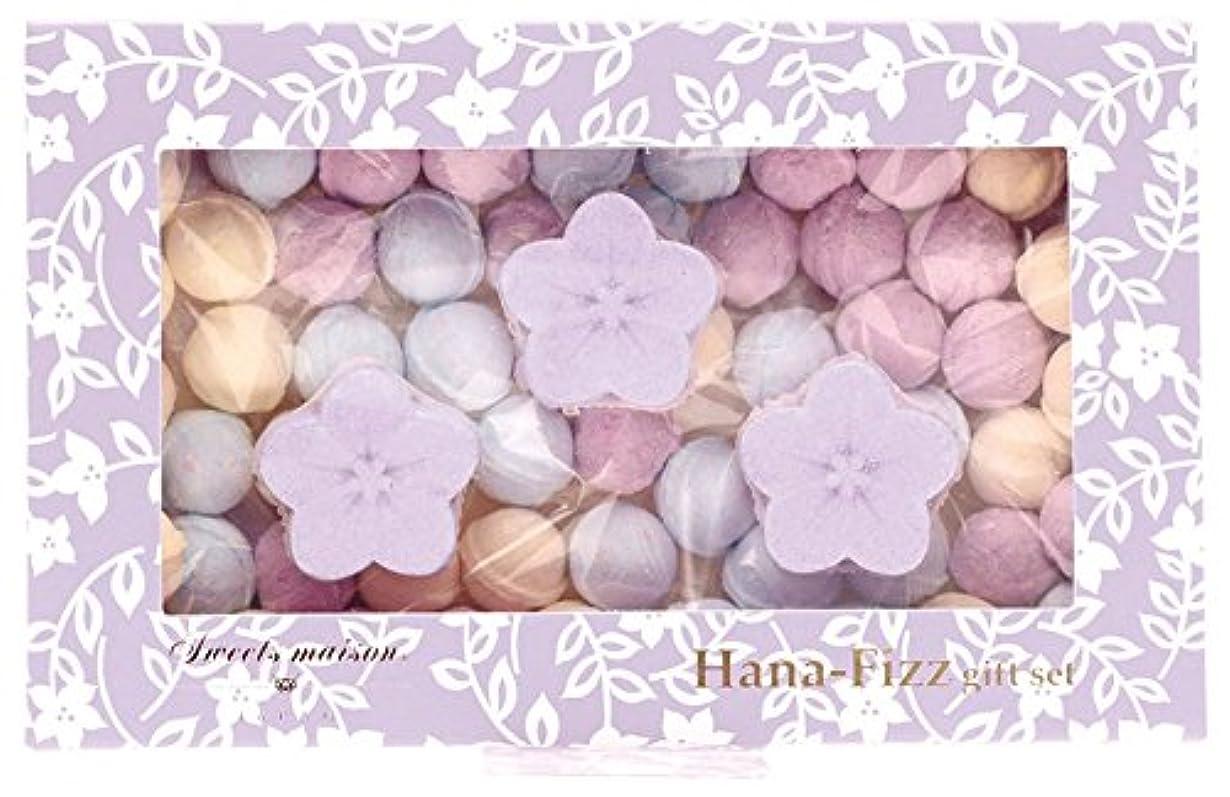 慎重出版連帯ノルコーポレーション 入浴剤 バスフィズ 花フィズギフトセット 105g 桔梗 OB-SMW-4-3