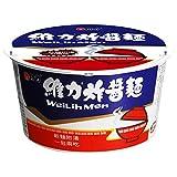 《維力》 炸醤桶麺 (90g ) (台湾カップ混ぜそば・スープ付) 《台湾 お土産》 [並行輸入品]