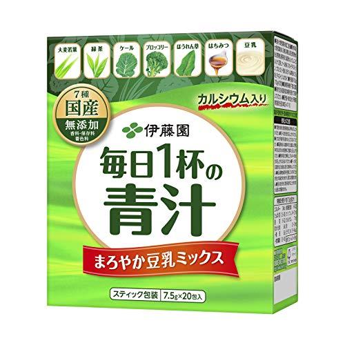 伊藤園 毎日1杯の青汁 粉末タイプ (有糖) 7.5g×20...