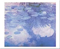 Waterlilies、1914–17by Claude Monet 20X 28アートプリントポスター