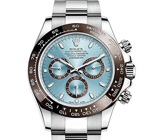 Rolex Cosmograph Daytonaアイスブルーダイヤルプラチナメンズ時計116506iblso