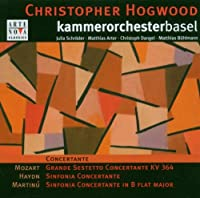 Concertante Haydn, Mozart, Martinu