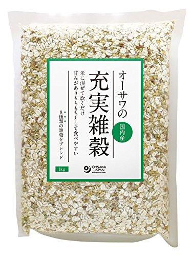 オーサワの充実雑穀 国内産 1kg