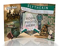"""Harry Potter Hogwarts House Personalized Slytherin Curvedアクリル印刷フォトフレーム7"""" x 5""""–追加Your Ownフォト。"""