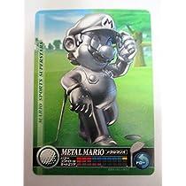『マリオスポーツ スーパースターズ』amiiboカード :メタルマリオ:ゴルフ