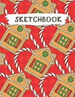 Sketchbook: Christmas Pattern Practice Drawing, Paint, Write, Doodle, Large Blank Pages 8.5 x 11 for Notes, Sketching, Creative Diary, Manga and Journal (Volume 100)