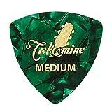 TAKAMINE P1G MEDIUM セルロイド トライアングルピック×10枚