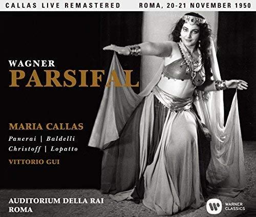 ワーグナー:舞台神聖祝典劇「パルジファル」全曲(イタリア語歌唱版)(1950年11月20&21日ローマ・ライヴ)(SACDシングルレイヤー)