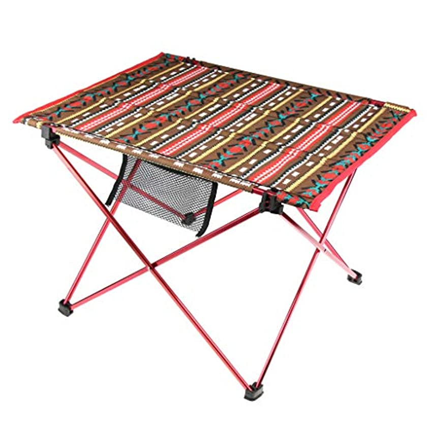 不屈スピン商品D DOLITY ポータブル キャンプテーブル 軽量 折りたたみ ピクニックデスク