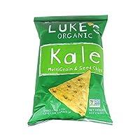 ルークスOrganics Kale MultigrainとシードChips 142g by Linwoods