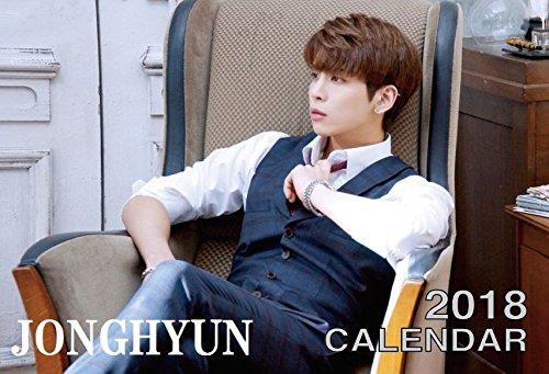 SHINee グッズ ジョンヒョン 2018年 卓上カレンダー 日本祝祭日仕様 ( 韓メディアSHOP購入特典付 )