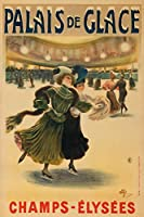 Palais de Glace Vintageポスター(アーティスト: Guillaume , Albert )フランスC。1896 16 x 24 Giclee Print LANT-63572-16x24