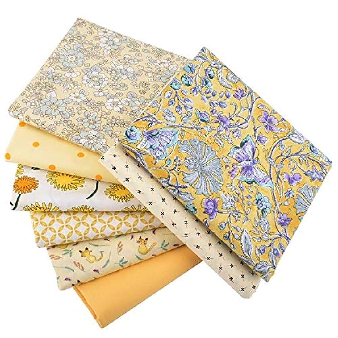 子孫フォーム十億8 PCS 15.7 X 19.7インチ、花シリーズ、プリントツイルコットン生地、パッチワークの布のためにDIYキルティング縫製DIYパッチワーク40x50cm