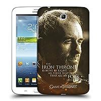 オフィシャルHBO Game of Thrones Stannis Baratheon キャラクター・ポートレート Samsung Galaxy Tab 3 7.0 専用ハードバックケース
