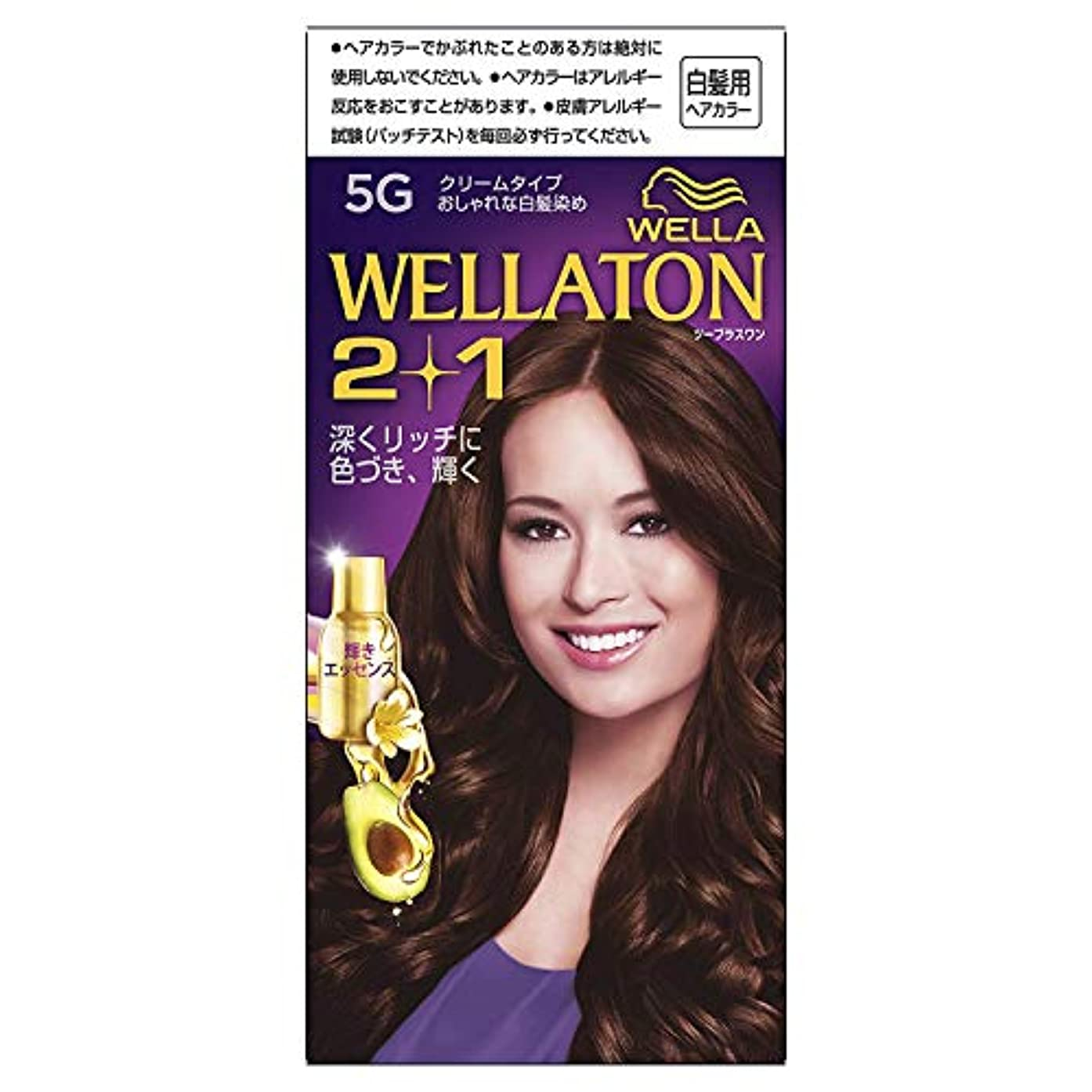 枠タヒチ呼びかけるウエラトーン2+1 クリームタイプ 5G [医薬部外品] ×3個