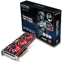 Sapphire Radeon HD 79906GB ddr5DVI - I / Quad Mini DP PCI - Expressグラフィックスカード( 21207–00–43G )