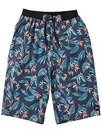 (ラグタイム セレクト) Ragtime Select サーフパンツ 大きいサイズ メンズ 海パン 海水パンツ ボタニカル 花柄 OP メッシュ サポーター C300409-01