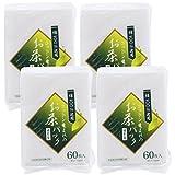 全家協 お茶パック ホワイト 9.5×7cm プロリーブ コットン生まれのお茶パック 日本製 60枚入 4個セット